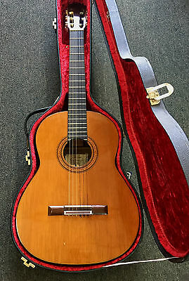 1970 Anselmo Solar Gonzalez Spanish Classical Acoustic Guitar With Original Case
