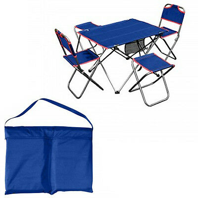 Portable Folding Table & Chairs Set Outdoor Camping PicNic Fishing Hunting Camp