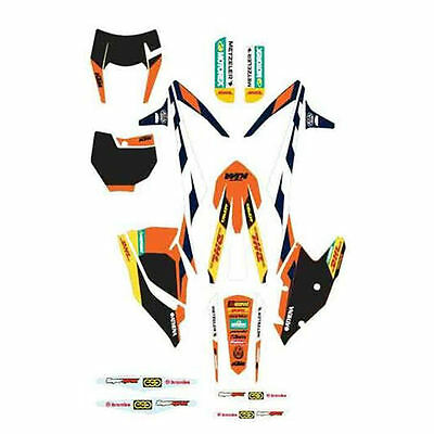 Ktm  Stickers Grafiche Enduro Factory Sx 16/17 Exc 17 79408990000