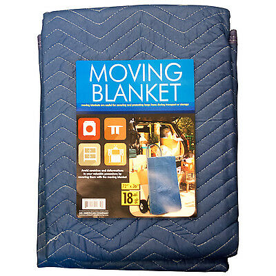 Moving Blanket Quilted Pads 72 x 36 Furniture Protection Padded Storage Cover