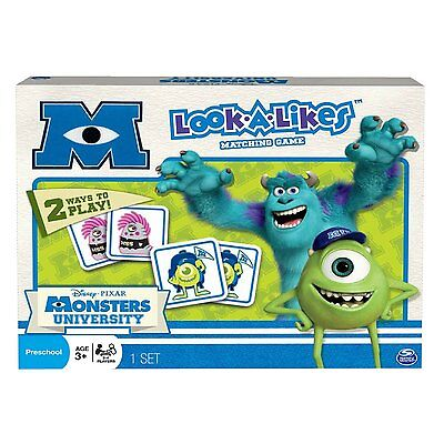 monsters inc university look a likes matching game 2 ways to play uk