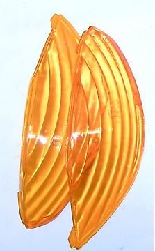 PEUGEOT VIVACITY INDICATOR LENS orange REAR LEFT and RIGHT PAIR