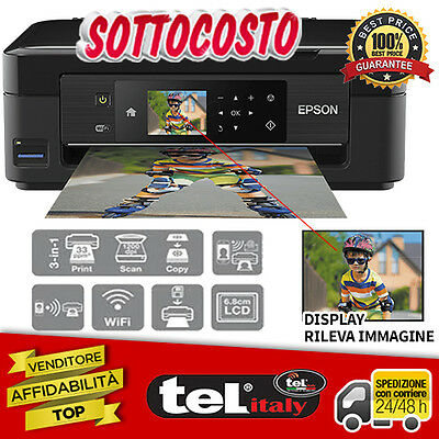 Stampante Multifunzione Epson XP-432 Ink-Jet A4 WiFi Wireless