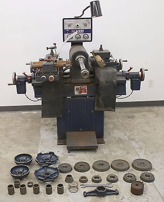 Ammco Super 6 Heavy Duty Truck Disc & Drum Brake Lathe with Adapters 6000 5000 4