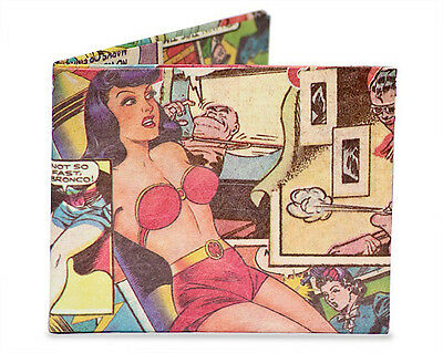 Dynomighty Comic Book Super Thin Bifold Tyvek MIGHTY WALLET New