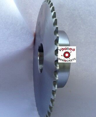 """25B48 1/4"""" Pitch, Chain Size 25, Finished Bore Sprocket, 1/2"""" Bore 2 Set Screw"""