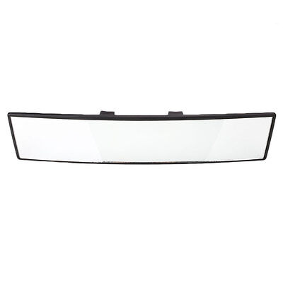 300mm Wide Curve Convex Car Interior Clip On Panoramic Rear View Mirror