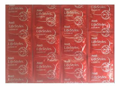 Ansell Lifestyles Closer Fit Condom (12 condoms ) Micro Thin- FREE SHIPPING