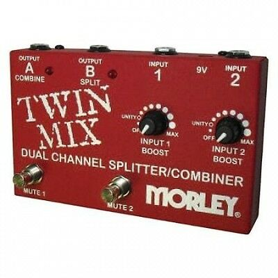 Morley Twin Mix ABY Switcher Splitter Combiner. Brand New