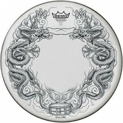 Remo Tattoo Skyn Drumhead 36cm Dragon Skyn Graphic. Shipping Included