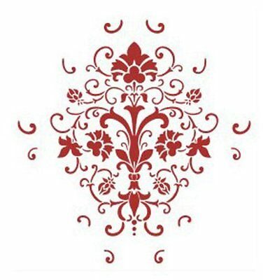 W6 Wall Painting Grain Stencil Pattern Mold 21*29cm