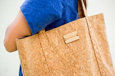 99ae785c2 Cork Tote Bag by corature - Vegan Tote - Made from Sustainable Cork -Bamboo  logo