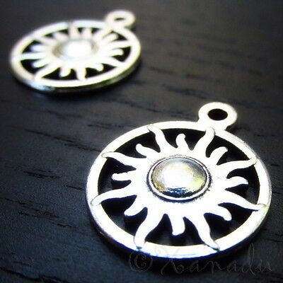 Crown Charms Wholesale Antiqued Silver Plated Pendants C3145-10 20 Or 50PCs