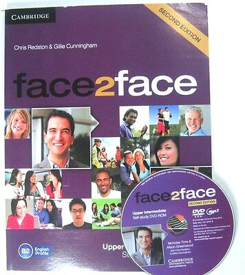 Face 2Face Upper Intermediate Student's Books Econd Edition With Cd Cambridge