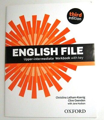English File Upper-Intermediate Third Edition Workbook With Key,cd Oxford Clive