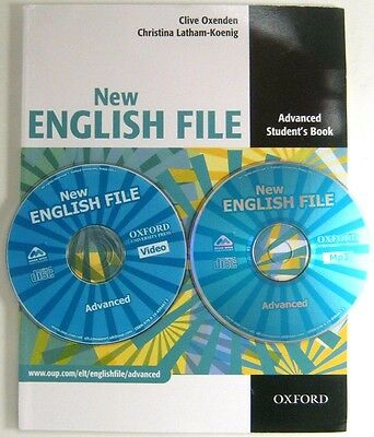 New ENGLISH FILE ADVANCED STUDENT'S BOOKS  CHRISTINA LATHAM WITH DVD OXFORD