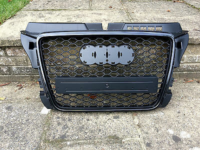 Audi A3 S3 S-Line Rs3 Style 8P Facelift Radiator Bumper Grille 2009-2012