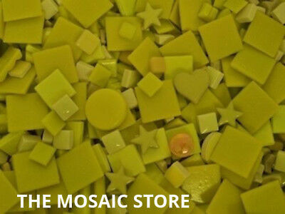 Mixed Yellow Tile Colour Packs - Mosaic Art & Craft Supplies