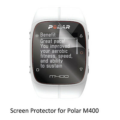 3* Clear LCD Shield Film Anti-Scratch Screen Protector for Polar M400