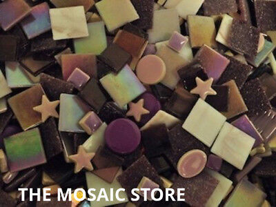 Mixed Purple Tile Colour Packs - Mosaic Art & Craft Supplies
