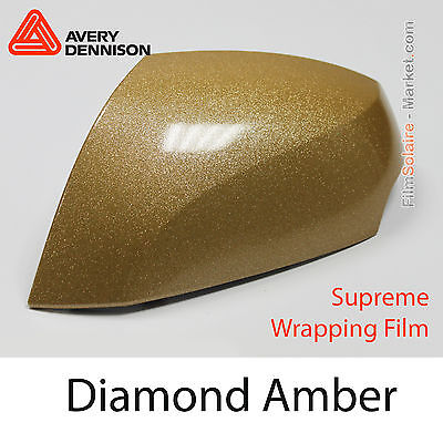 10x20cm FILM Diamond Amber Avery Dennison Supreme Wrapping Cover - BD2800001