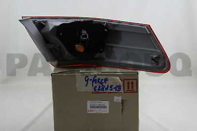 8155106440 Genuine Toyota LENS & BODY, REAR COMBINATION LAMP, RH 81551-06440