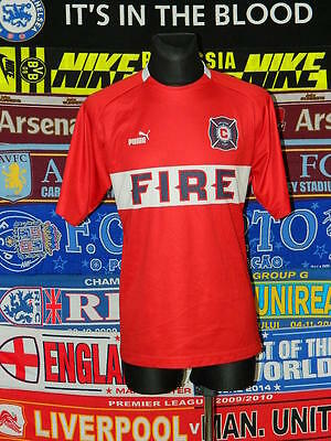 4/5 Chicago Fire adults L retro rare football shirt jersey trikot soccer