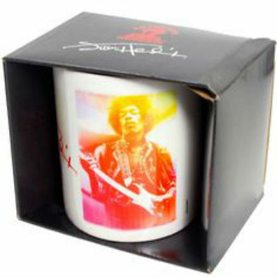 JIMI HENDRIX Signature OFFICIAL Mug NEW in Presentation Box