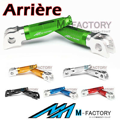 Fit Kawasaki Z800 2013-2014 2015 M-Factory 100% CNC Repose Pieds Passager