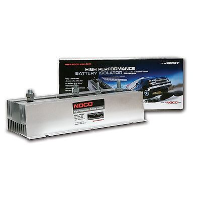 NOCO IGD200HP Grey 200-Amp High-Performance Battery Isolator 200 Amp