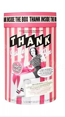 Soap and Glory THANK INSIDE THE BOX Daily Smooth, Clean Girls, Scrub Em GIFT