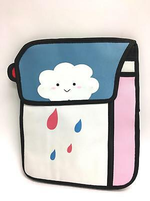 Rare Pop-Art Japanese Anime Rainy Cloud Backpack