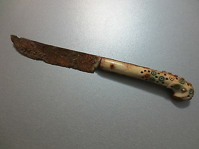 ANTIQUE 18th CENTURY OTTOMAN EMPIRE TURKEY DAGGER TURKISH KNIFE - EXCELLENT