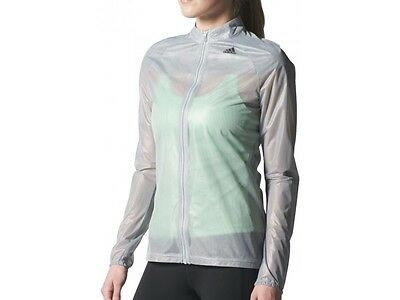 New Adidas Women's  Adizero Ghost Jacket/running/reflective/climaproof rain/gym