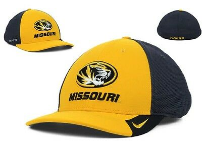 more photos 15beb 3a691 NWT Nike NCAA Missouri Tigers Conference Legacy 91 Team Hat Cap Size M L GD