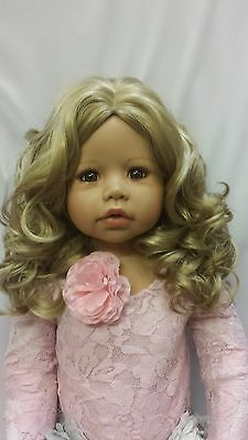 """NWT Monique Charlene Blonde Doll Wig 17-18"""" fits Masterpiece Doll(WIG ONLY)"""