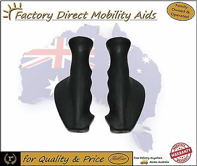 set of Universal Rollator / Walker Handle Grips Set Right and Left ergonomic!