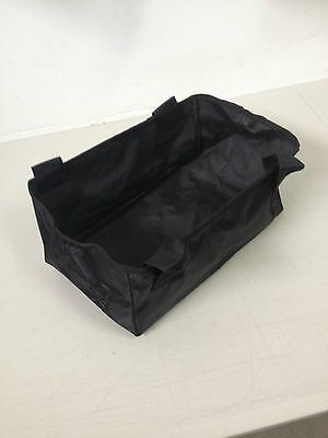 Replacement Canvas Bag for Walker / Rollator Straps on with Velcro