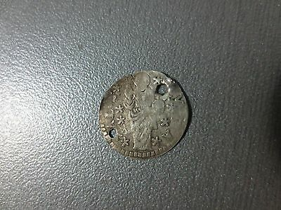 Ancient Medieval Silver Coin 1634 Europe 17th Century VERY RARE