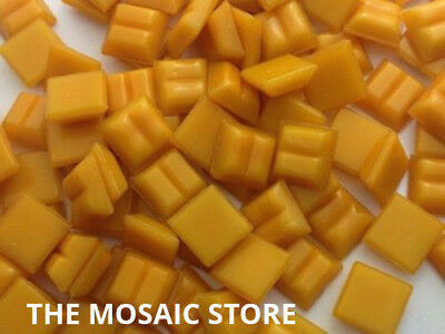 Orange 1cm Vitreous Glass Mosaic Tiles - Art & Craft Supplies