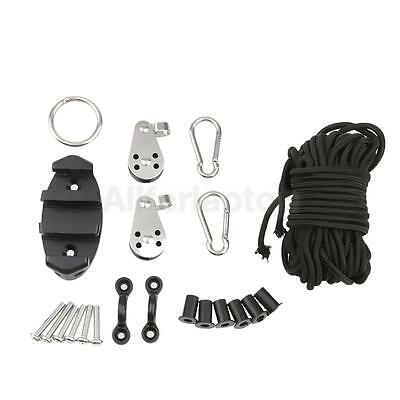 1 Satz Kayak Boots-Anker-Trolley Kits Well Nuts Karabiner Rope Zubehör