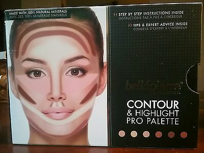 Bellapierre Contour & Highlight Pro Palette Full Size New in Box MSRP $50
