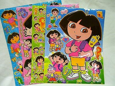 Party Bags Stocking Marie Cat Cartoon 5 x A4 Sheets of Shiny Foil Stickers 453