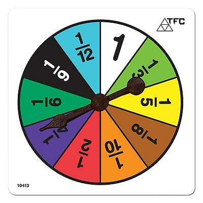 Fractions Spinners Maths Teacher Resources Games Classroom Learning School Kids