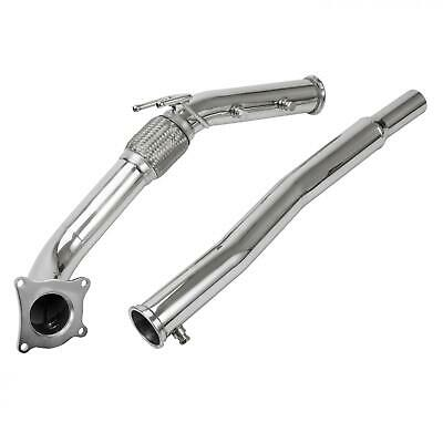 New Exhaust Turbo Decat Downpipe Fits 2.0T S3,A3 Quattro Golf Gti R,Cupra