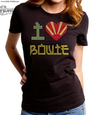 I Love Bowie T-shirt/80's Tee,MTV,Vintage,Throwback,Official David Bowie Tee