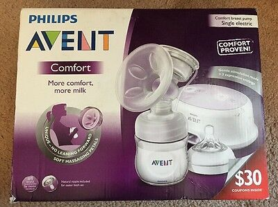 Philips Avent Comfort Breast Pump Single Electric