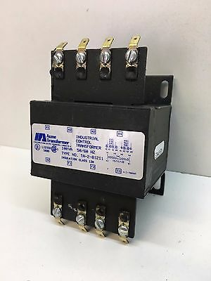 Acme TA-2-81211 Industrial Control Transformer Pri: 240X480 Sec: 120V, 100VA 1Ph