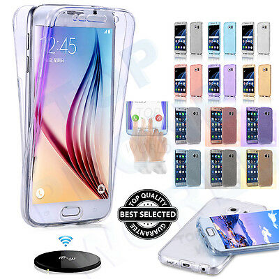 New Shockproof 360° Solicone Gel Protective Case Cover For Samsung Galaxy Phone