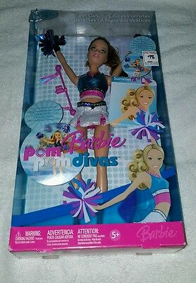 Brand New 2006 Pom Pom Divas Doll Twirl Girls